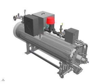 Warmwassererzeuger – geschlossener Kreislauf
