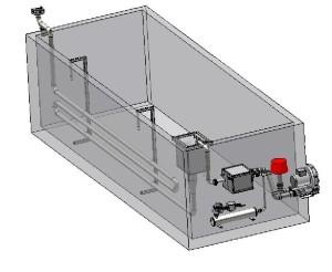 Kompakter Tauchrohrbrenner Brunnenmontage