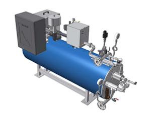 Doppelwandiger Warmwassererzeuger